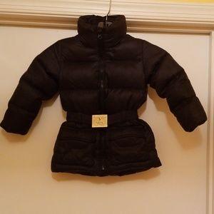 Like New! KIDS  Belted Ralph  Lauren Down Coat